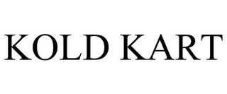 mark for KOLD KART, trademark #85617602