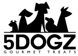 mark for 5DOGZ GOURMET TREATS, trademark #85617753