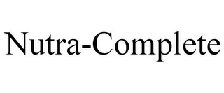 mark for NUTRA-COMPLETE, trademark #85617772