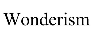 mark for WONDERISM, trademark #85617902