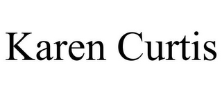 mark for KAREN CURTIS, trademark #85617986