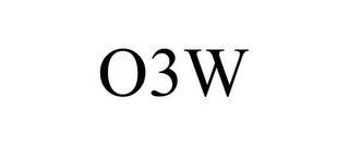 mark for O3W, trademark #85618112