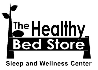 mark for THE HEALTHY BED STORE SLEEP AND WELLNESS CENTER, trademark #85618243
