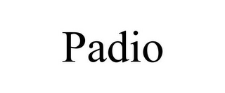 mark for PADIO, trademark #85618473