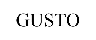 mark for GUSTO, trademark #85618504