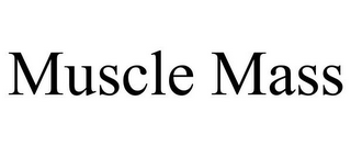 mark for MUSCLE MASS, trademark #85618557