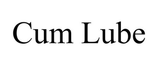 mark for CUM LUBE, trademark #85618599