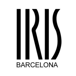 mark for IRIS BARCELONA, trademark #85618601