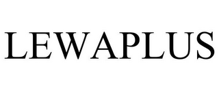 mark for LEWAPLUS, trademark #85618753