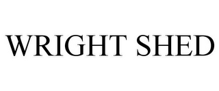 mark for WRIGHT SHED, trademark #85618803