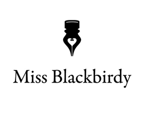 mark for MISS BLACKBIRDY, trademark #85619226