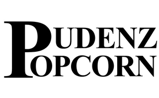 mark for PUDENZ POPCORN, trademark #85619241