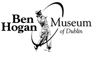 mark for BEN HOGAN MUSEUM OF DUBLIN, trademark #85619343