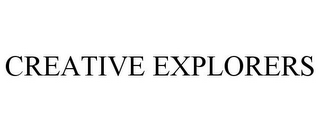 mark for CREATIVE EXPLORERS, trademark #85619783