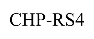 mark for CHP-RS4, trademark #85619897