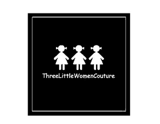 mark for THREELITTLEWOMENCOUTURE, trademark #85620049