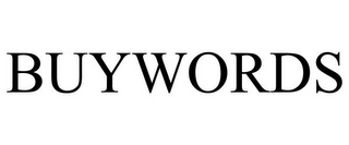 mark for BUYWORDS, trademark #85620582