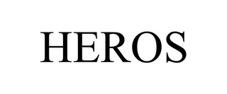 mark for HEROS, trademark #85620614