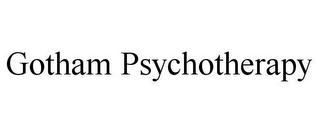 mark for GOTHAM PSYCHOTHERAPY, trademark #85621073
