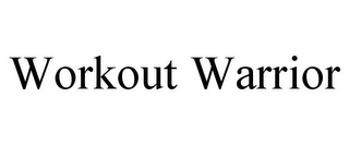 mark for WORKOUT WARRIOR, trademark #85621114