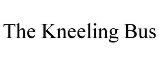 mark for THE KNEELING BUS, trademark #85621378