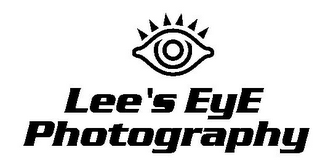 mark for LEE'S EYE PHOTOGRAPHY, trademark #85621420