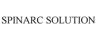 mark for SPINARC SOLUTION, trademark #85621573