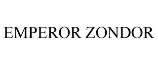 mark for EMPEROR ZONDOR, trademark #85621643