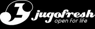 mark for JF JUGOFRESH OPEN FOR LIFE, trademark #85621837