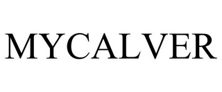 mark for MYCALVER, trademark #85622036