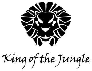 mark for KING OF THE JUNGLE, trademark #85622276