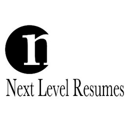 mark for N NEXT LEVEL RESUMES, trademark #85622519
