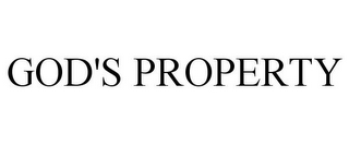 mark for GOD'S PROPERTY, trademark #85622538
