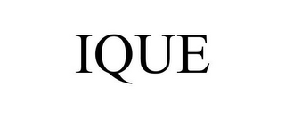 mark for IQUE, trademark #85622567