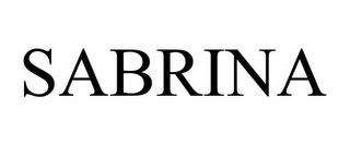 mark for SABRINA, trademark #85622663