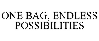 mark for ONE BAG, ENDLESS POSSIBILITIES, trademark #85622703