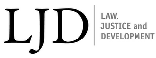 mark for LJD LAW, JUSTICE AND DEVELOPMENT, trademark #85622760