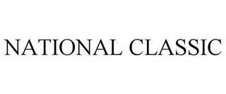 mark for NATIONAL CLASSIC, trademark #85622903