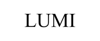 mark for LUMI, trademark #85623348