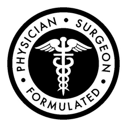 mark for PHYSICIAN SURGEON FORMULATED ·, trademark #85623521