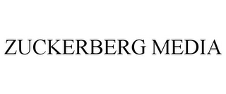 mark for ZUCKERBERG MEDIA, trademark #85623652