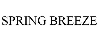mark for SPRING BREEZE, trademark #85624194