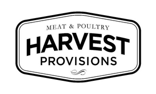 mark for HARVEST PROVISIONS MEAT & POULTRY, trademark #85624436