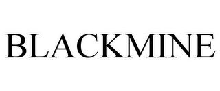 mark for BLACKMINE, trademark #85624532