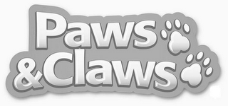 mark for PAWS & CLAWS, trademark #85624555