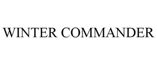 mark for WINTER COMMANDER, trademark #85624610