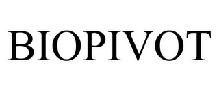 mark for BIOPIVOT, trademark #85624630