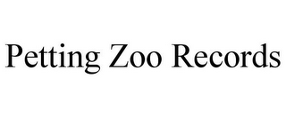 mark for PETTING ZOO RECORDS, trademark #85624676