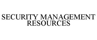 mark for SECURITY MANAGEMENT RESOURCES, trademark #85624714