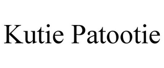 mark for KUTIE PATOOTIE, trademark #85624898
